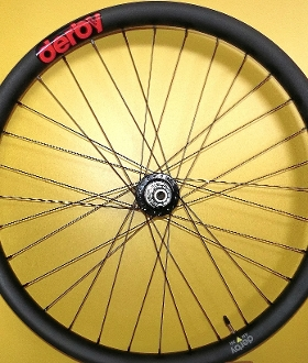 27.5x40mm '35i' AM Wheel Set - Chris King BLACK boost SRAM XD